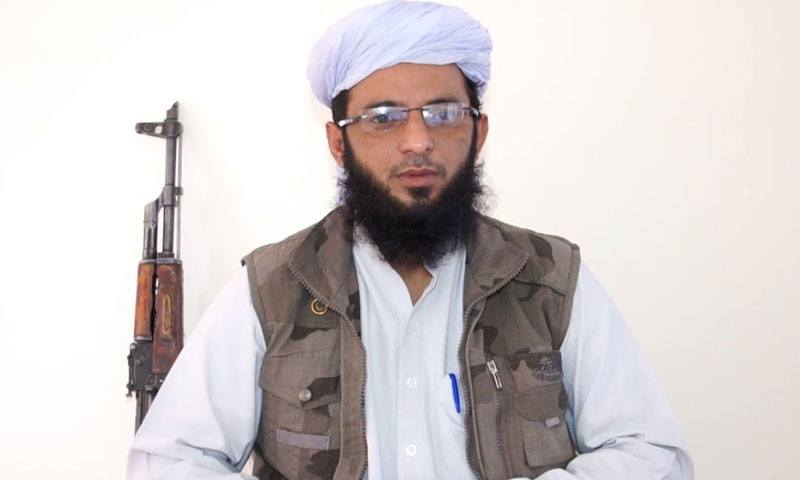 Punjabi Taliban chief Ismatullah Muawiya. -Video grab