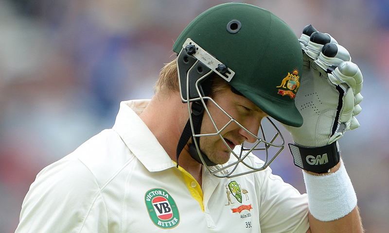 Watson out of Pakistan Test series with injury