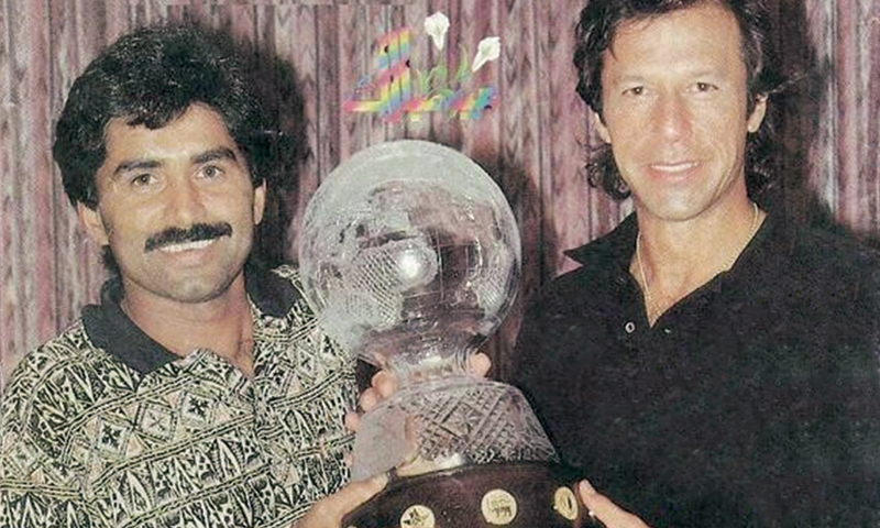 Miandad and Khan — Good old days