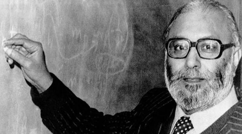 Dr Abdus Salam helped set up Pakistan's space organisation before India had founded theirs.