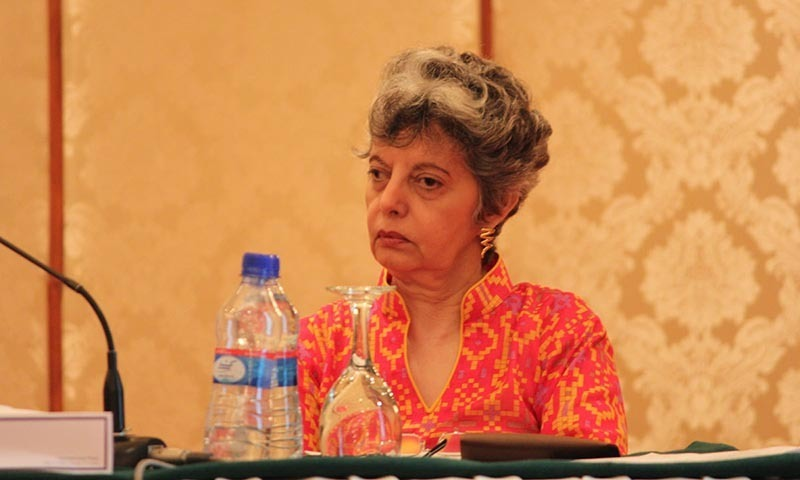 Human Rights Commission of Pakistan Chairperson Zohra Yusuf.  — File photo by Asif Umar