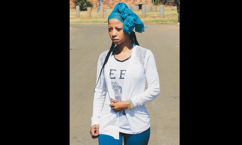 johannesburg kelly khumalo the girlfriend of footballer senzo meyiwa