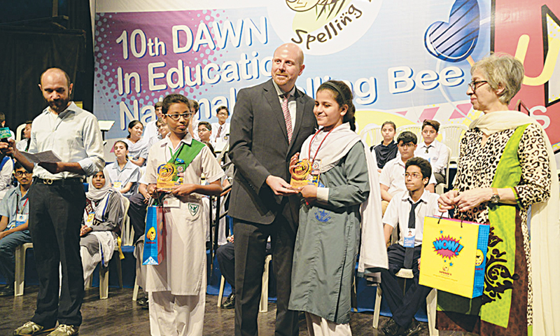 breaking spell at 10th dawn in education spelling bee newspaper rh dawn com