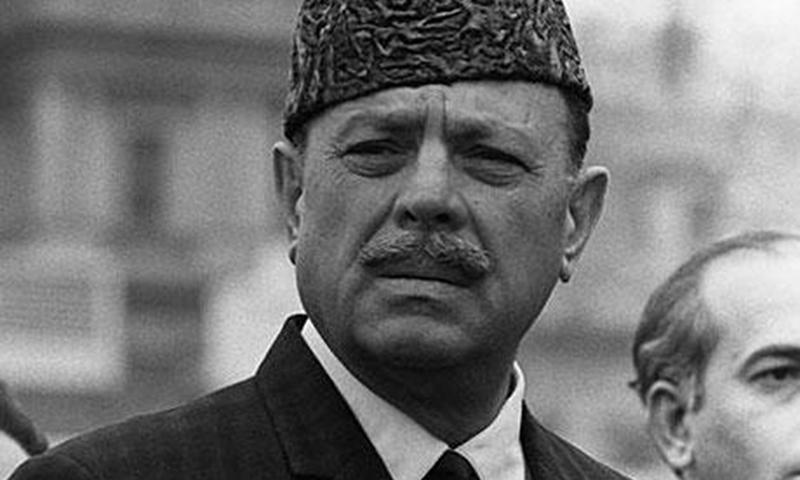 Ayub in Jinnah cap: The 1962 Constitution enshrined his idea of 'Jinnah's Pakistan.'