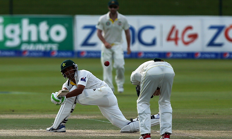 Demoralised Australia fight to save Test after Younis epic
