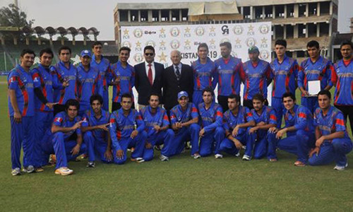 Spirited Afghans shock Pakistan to seal U-19 series