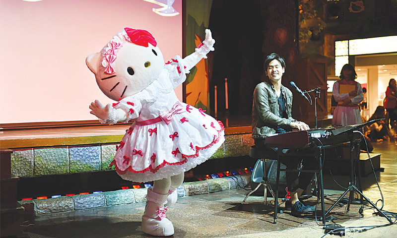 Hello Kitty celebrates 40th birthday - Newspaper - DAWN COM