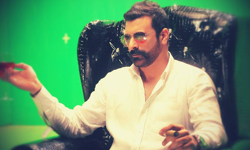 """The talented actor and director talks candidly about his new movie 'Gidh' and embracing being branded a """"villian"""". - Shamoon Abbasi's Official Facebook page"""