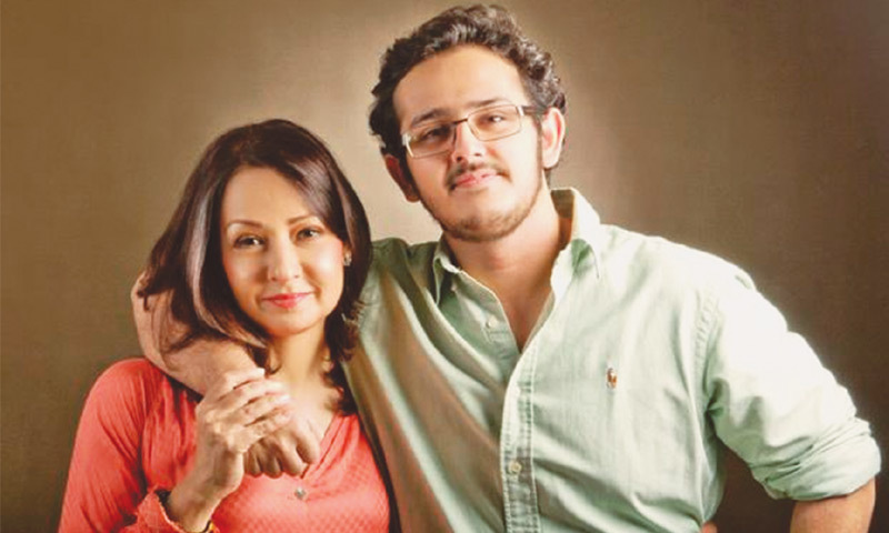 Family Ties Zeba With Son Azaan Photo Mohammad Farooq