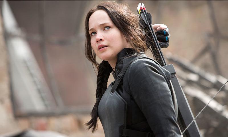 Jennifer Lawrence Katniss Everdeen Mockingjay