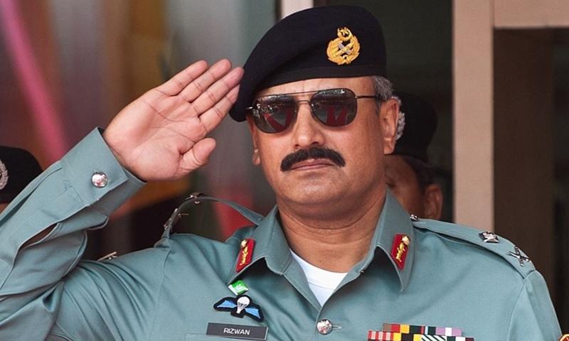 Lt Gen Rizwan Akhtar — AFP/ File
