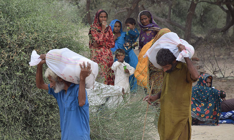 Famine has triggered large scale migration of marginalised groups in Thar. – Photo by author