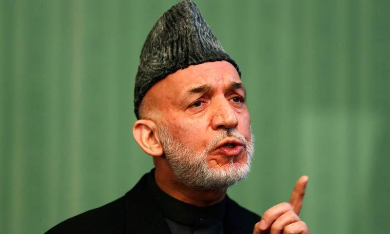 Former Afghan president Hamid Karzai. - Reuters/File photo