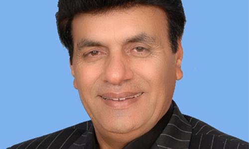 Aijaz Chaudhry. - Courtesy: National Assembly website
