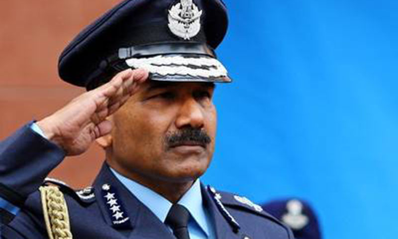IAF chief Air Marshal Arup Raha.—AFP/File