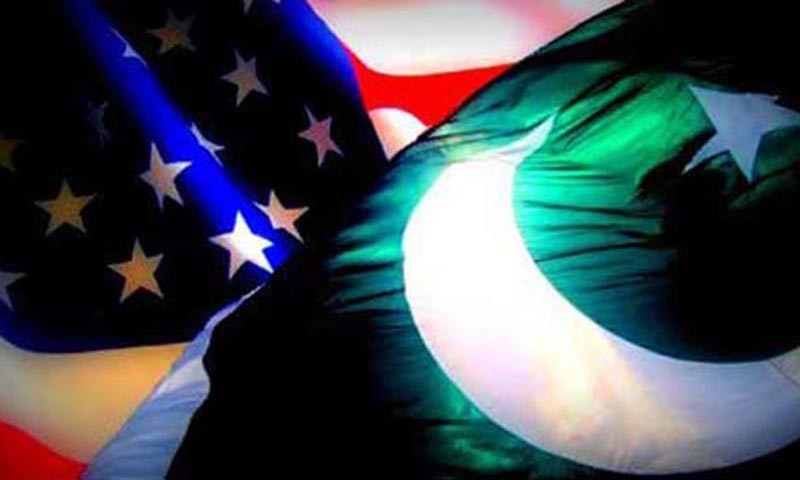 US and Pakistan flags.— Dawn/file