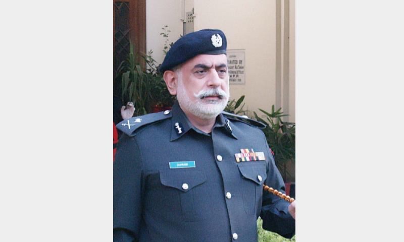 Police Nasir Khan Durrani