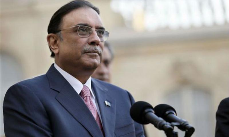 Former president Asif Ali Zardari. — AFP/file