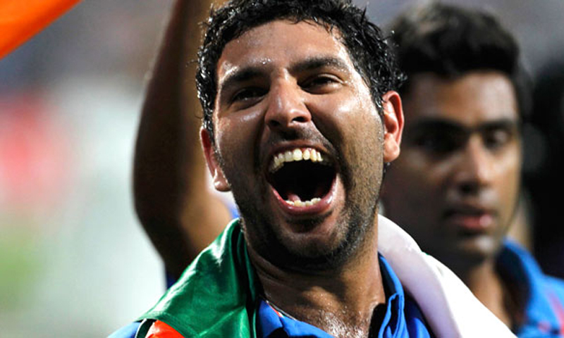 Yuvraj, Sehwag, Zaheer and Harbhajan were not considered for the World Cup. — Reuters/File
