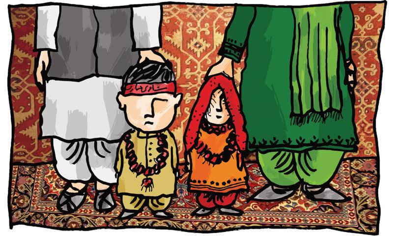 —Illustration by Khuda Bux Abro.