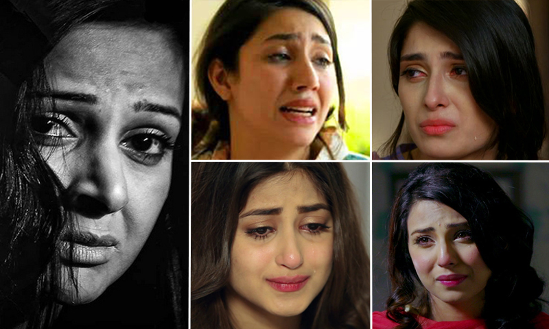 The Crying Woman has played the same role with different names and different getups.