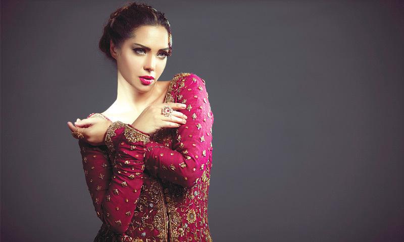 Photography: Umair Bin Nisar Hair & make-up: Saba Ansari @ Sabs Salon Designer: Mifrah