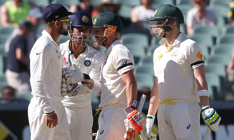Image result for virat kohli fight with australians