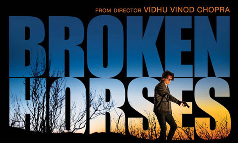 Poster of film, 'Broken Horses'. – Photo credit: glamsham.com