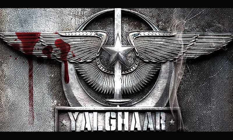 Official poster for Yalghaar. - Photo courtesy: Wikipedia
