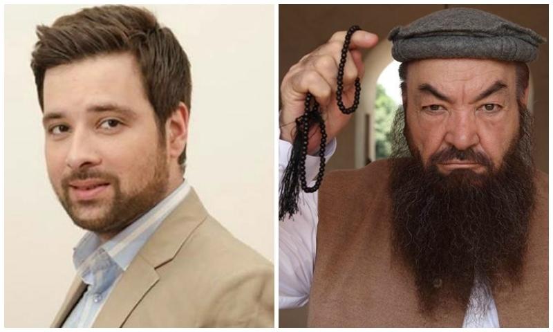 Meekal Zulfiqar (L) and Rasheed Naaz (R)
