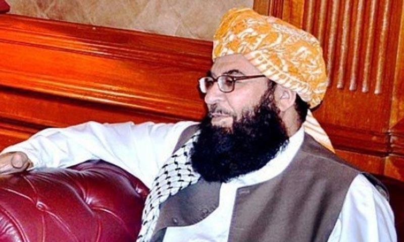 Federal Minister for Postal Services Maulana Abdul Ghafoor Haideri. — APP