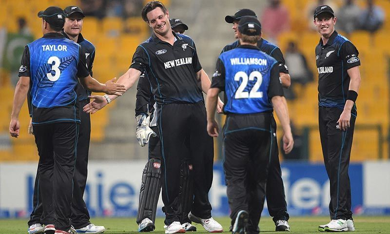 New Zealand level series with Pakistan