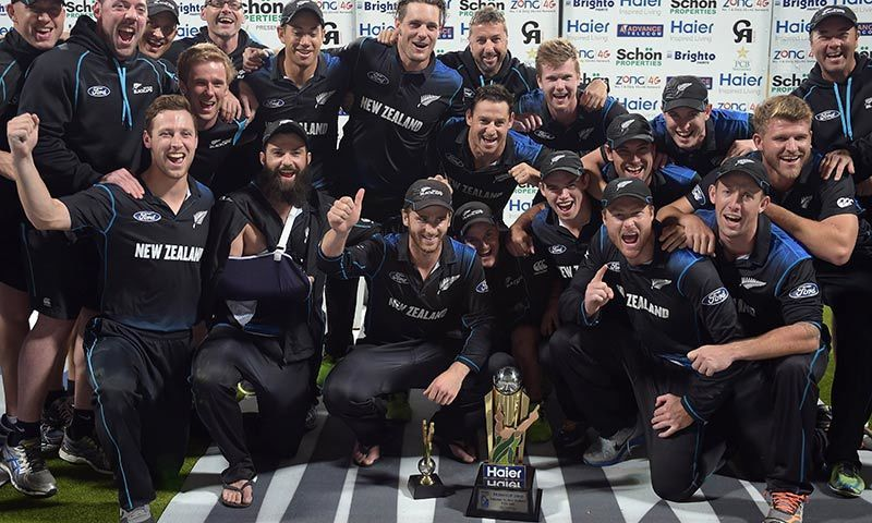 New Zealand beat Pakistan for series win