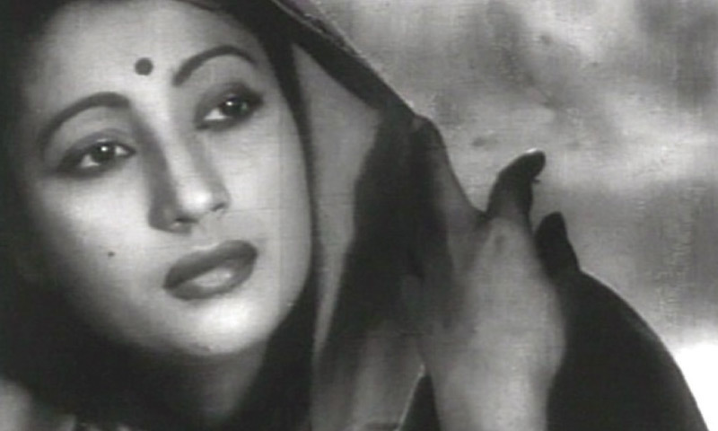 Suchitra Sen as Paro in Devdas (1955)
