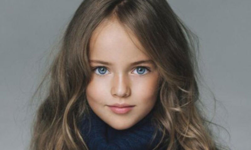 Mother insists child supermodel kristina pimenova is sheltered from child supermodel kristina pimenova photo courtesy herscoop thecheapjerseys Images