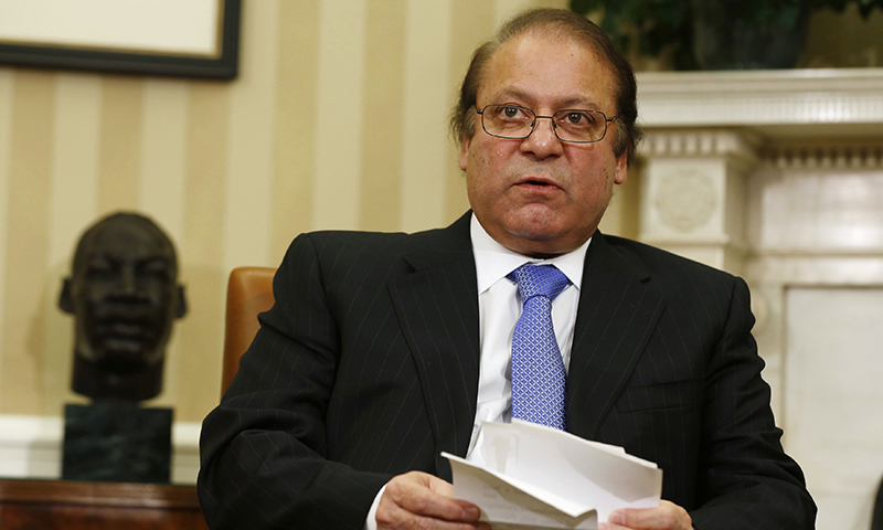 Prime Minister Nawaz Sharif. — Reuters/File