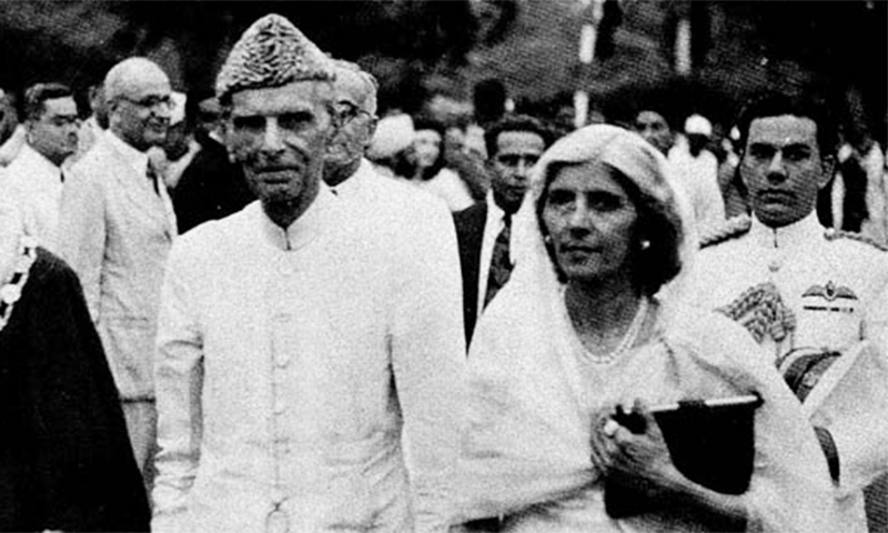 In a bid to protect Pakistan's 'ideology', certain pages pertaining to Liaquat Ali Khan were removed before publication.—Photo courtesy: Citizens Archive of Pakistan