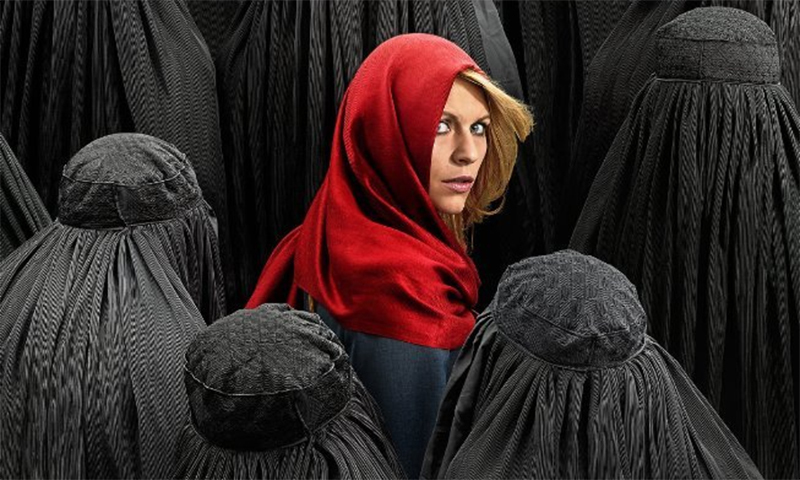 "Espionage show ""Homeland"" raised a furore among Pakistani officials who believed it tarnished the image of the country. —Courtesy photo"