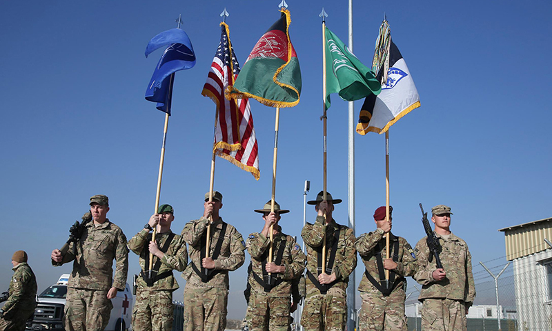 US, Nato ceremonially end Afghan combat mission after 13 years. — AP/File