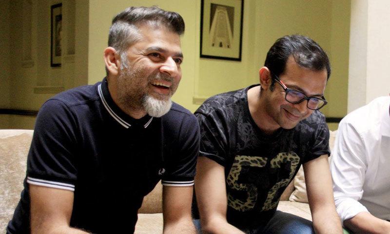 Asadul Haq with Ali Murtaza. - Photo courtesy: veooz.com