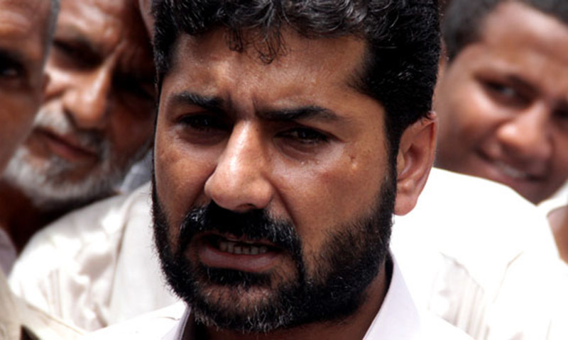 Lyari gang war leader, Uzair Baloch— Hussain Afzal/File
