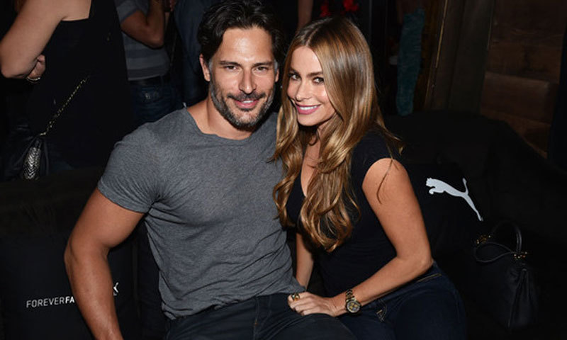 Joe Manganiello and Sofia Vergara. - AP images