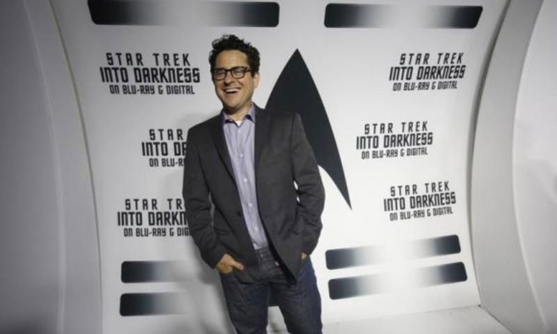 J.J. Abrams poses at the party at the California Science Center in Los Angeles, California September 10, 2013. – Reuters