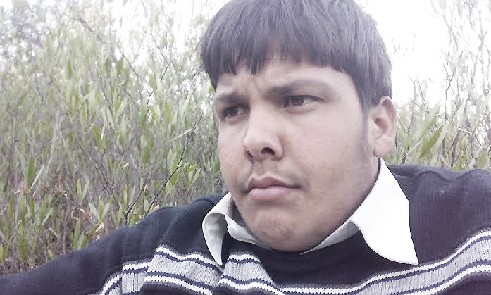 Aitzaz Hasan in an image distributed on social media