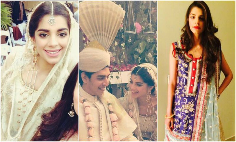 Sanam Saeed on her nikkah and dholki.