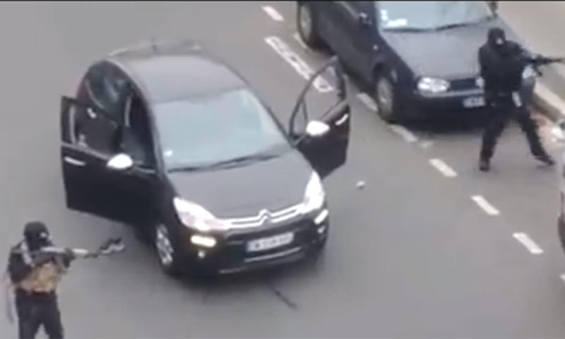 Youtube Offices 12 dead in shooting at paris offices of satirical magazine - world