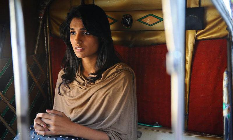 Amna Ilyas in 'Good Morning Karachi.' - Photo courtesy: Official Facebook page of 'Good Morning Karachi'