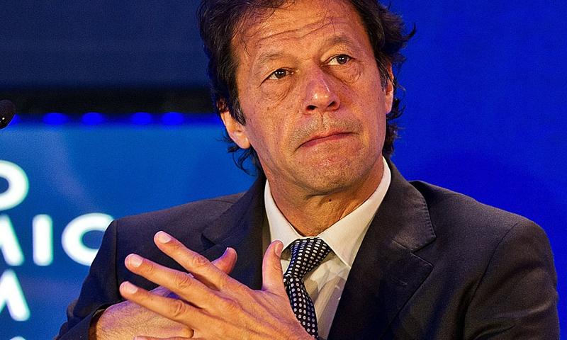 Pakistan Tehreek-i-Insaf Chairman Imran Khan. — AFP