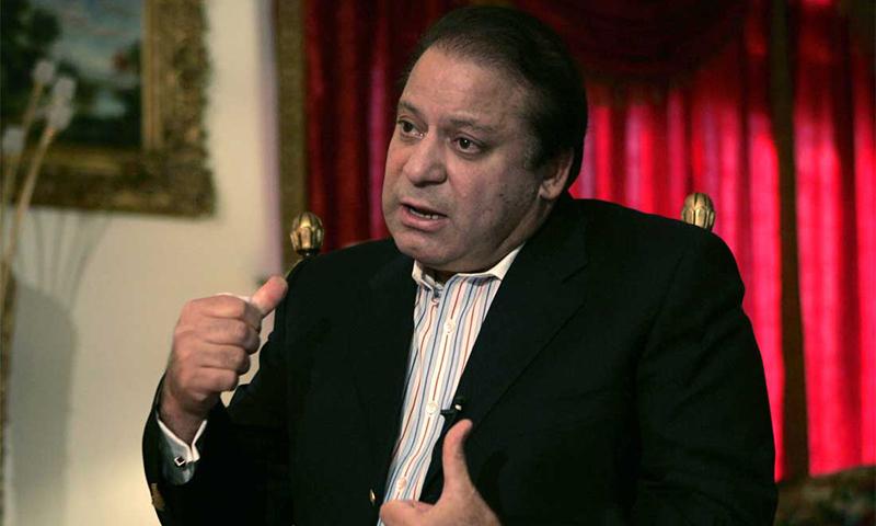 Prime Minister Nawaz Sharif. — AP/File