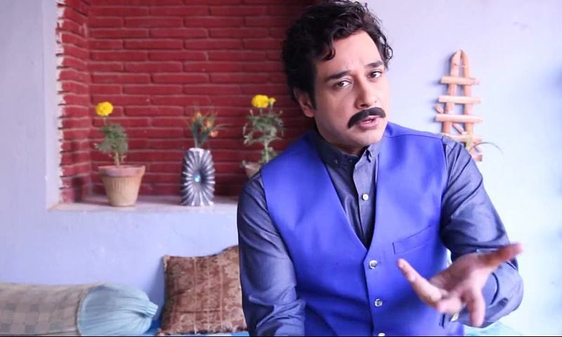 Faysal Qureshi as Aashiq Hussain. - Photo courtesy: apnatvzone.com